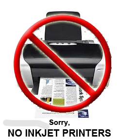 We do not service InkJet Printers